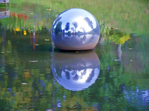 ball in a pond