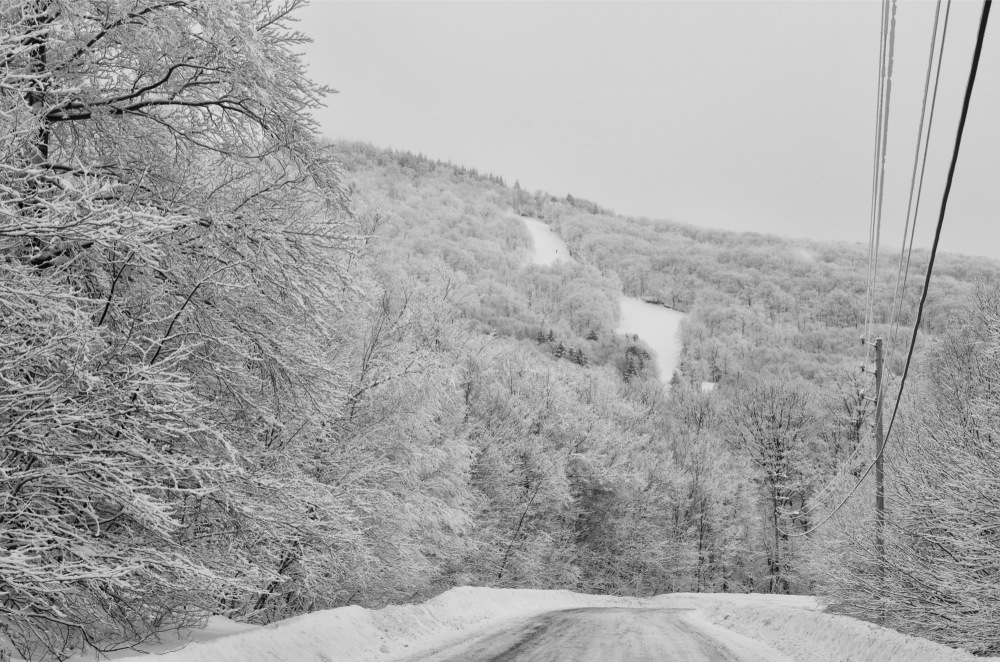 view on the ski slopes #1