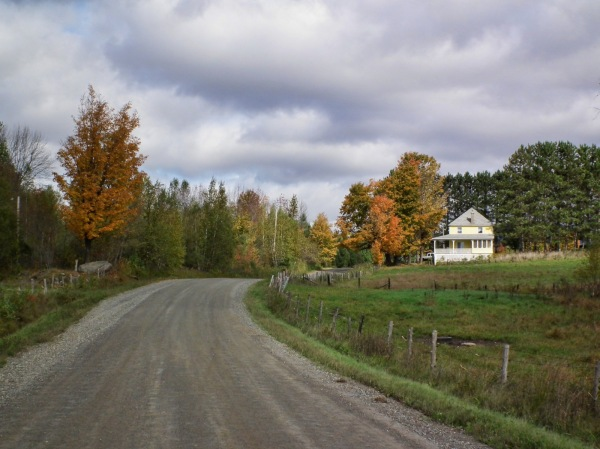 country in autumn