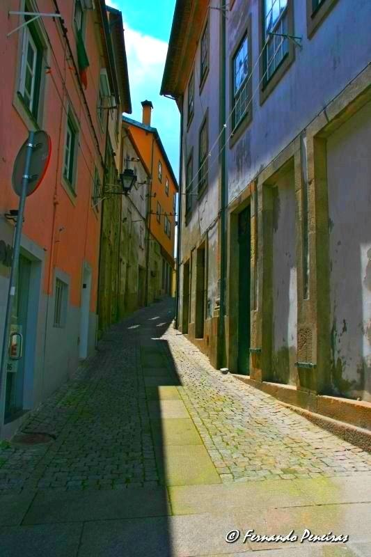 Ruas de Viseu - Portugal