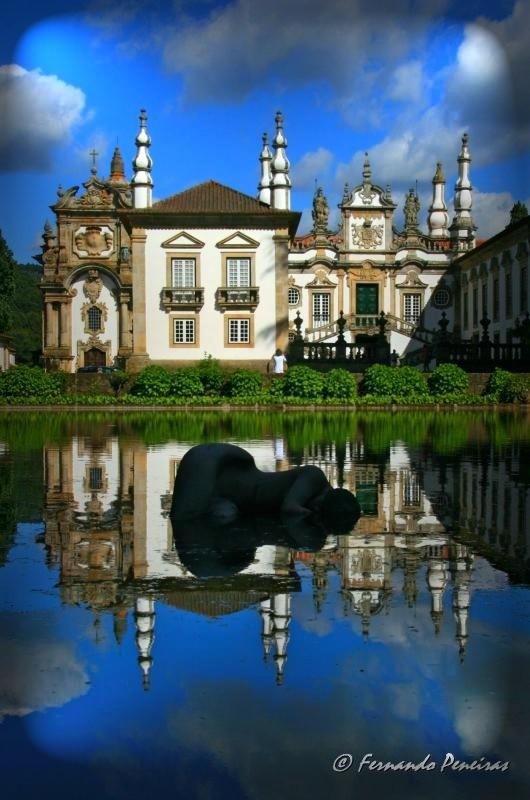 Fundação da casa de Mateus - Vila Real - Portugal