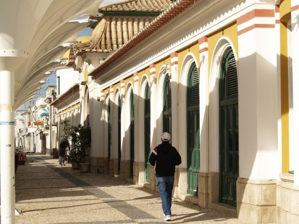 Old market at V R S António