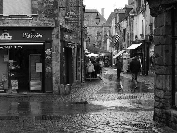 jour de pluie à Guérande