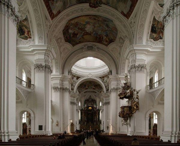 Abbey church at Weingarten