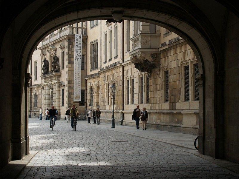 Archway in Dresden