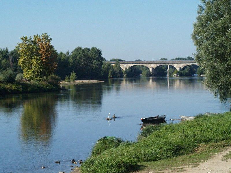 La Loire at St-Cyr-sur-Loire, morning