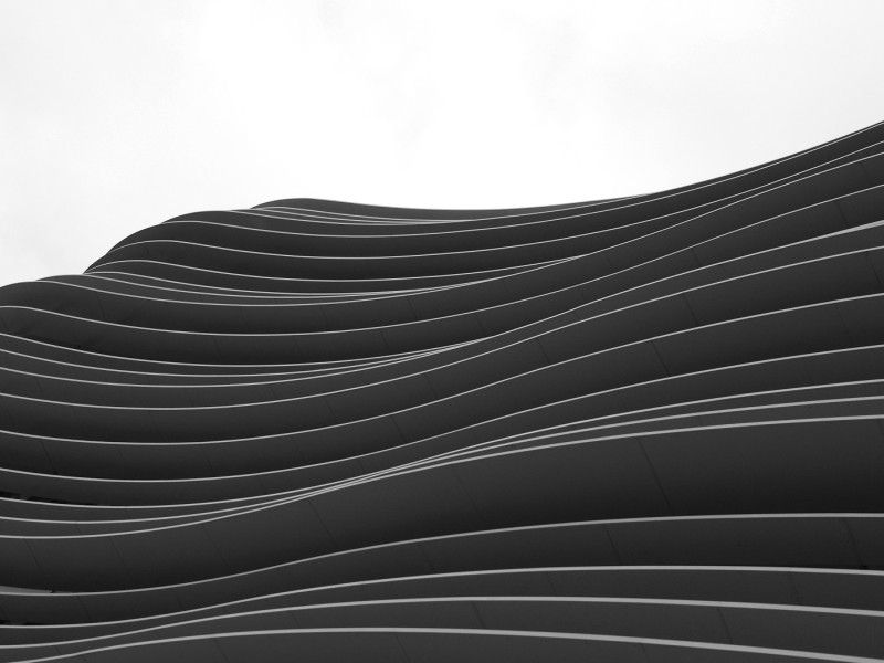 an abstract from a building