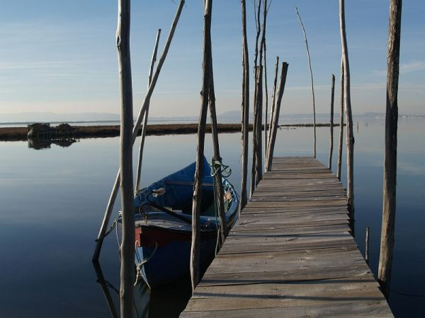 boat at Carrasqueira