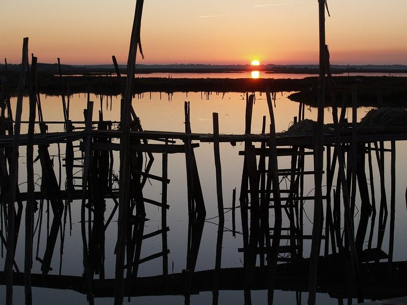 sunset at Carrasqueira