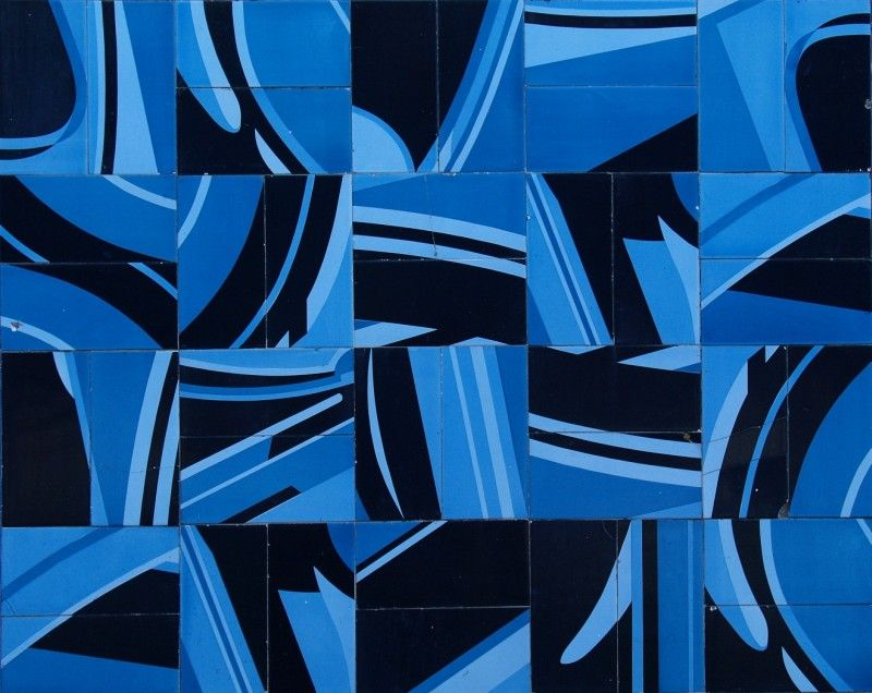 av Gulbenkian tiles panel