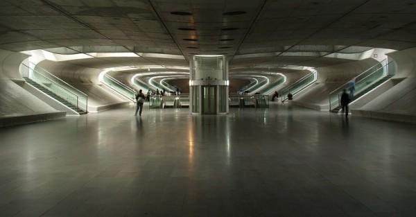 At Gare do Oriente