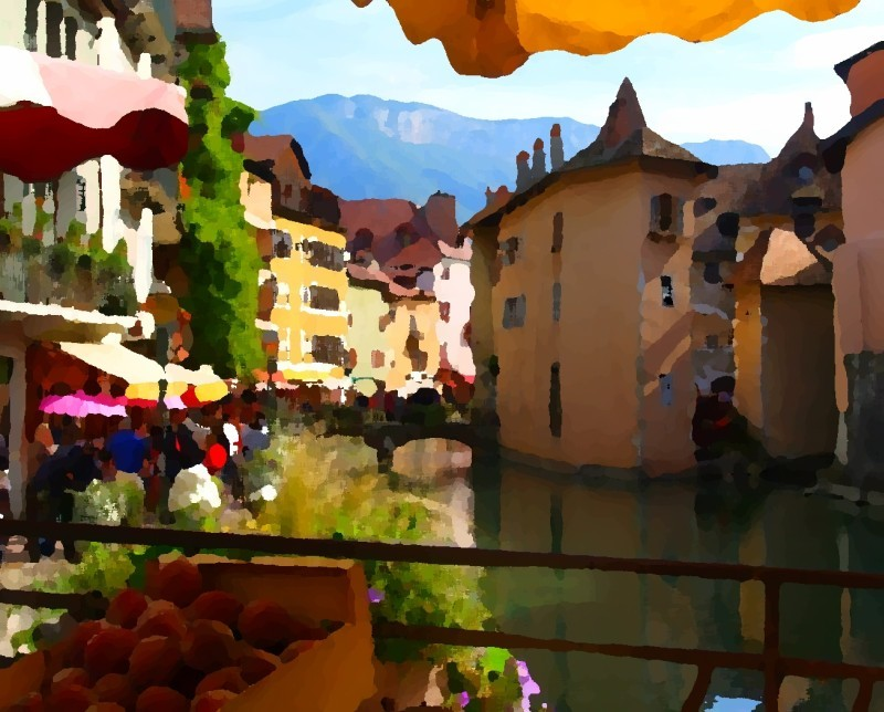 Annecy painterly