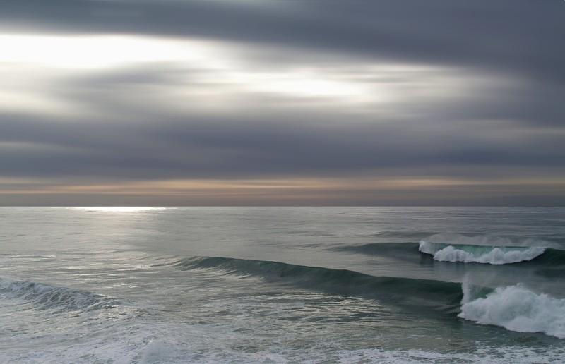 sea in the Portuguese coast
