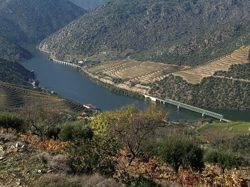 Douro river at Ferradosa