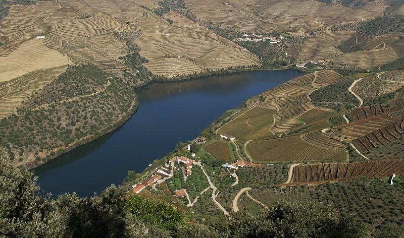 Douro river at Vargelas farm