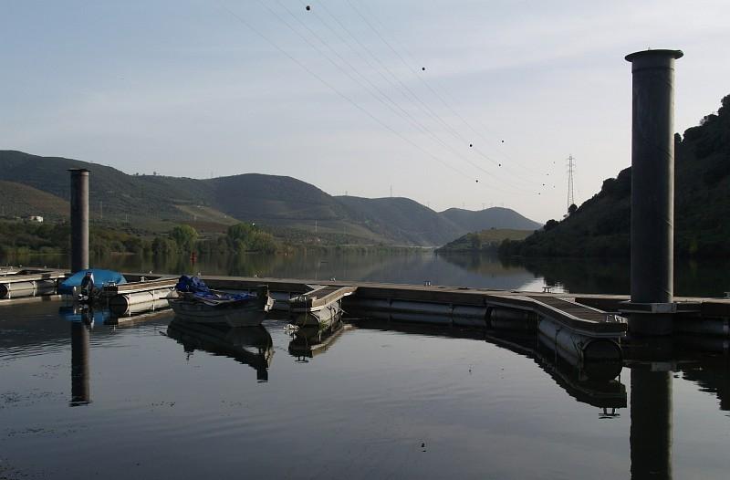 Douro river at Foz do Sabor