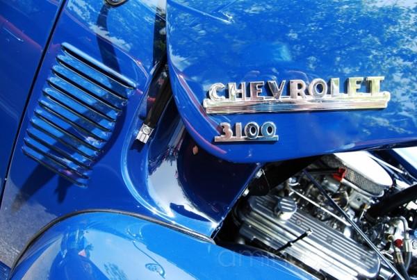 blue Chevrolet