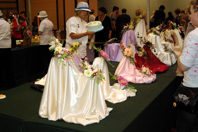 cakes from sugarcraft & cake decorating exhibition