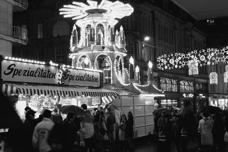 christmas market in Birmingham