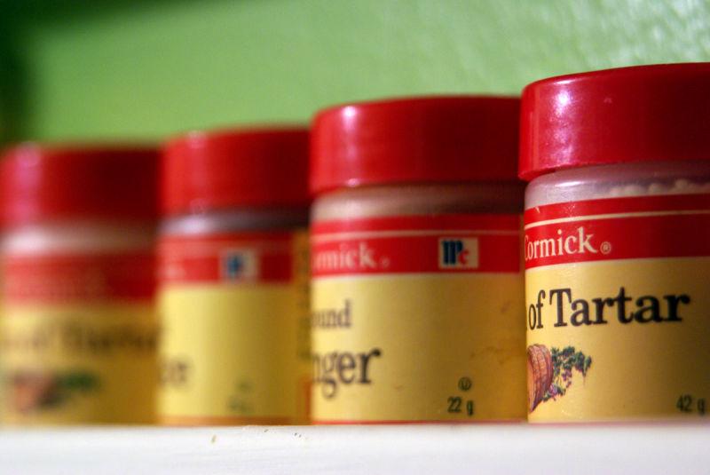 spice on the shelf
