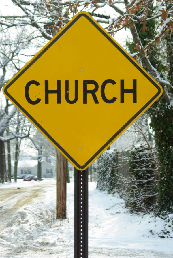 "streets sign ""church"""