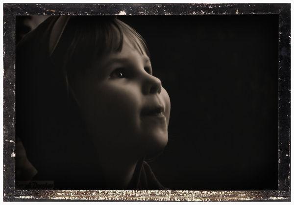 little girl face