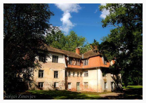 old house in Olustvere