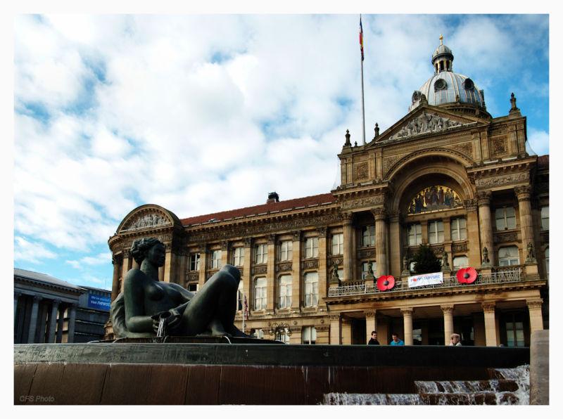 Birmingham's Victoria Square