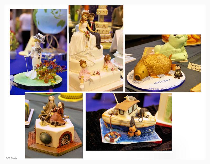 Cakes from Cake International 2010 in Birmingham