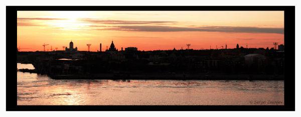 view of night Helsinki