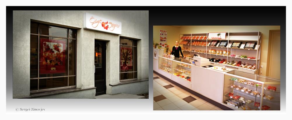 """Images of store """"Õige Magus"""" in Türi, Estonia"""