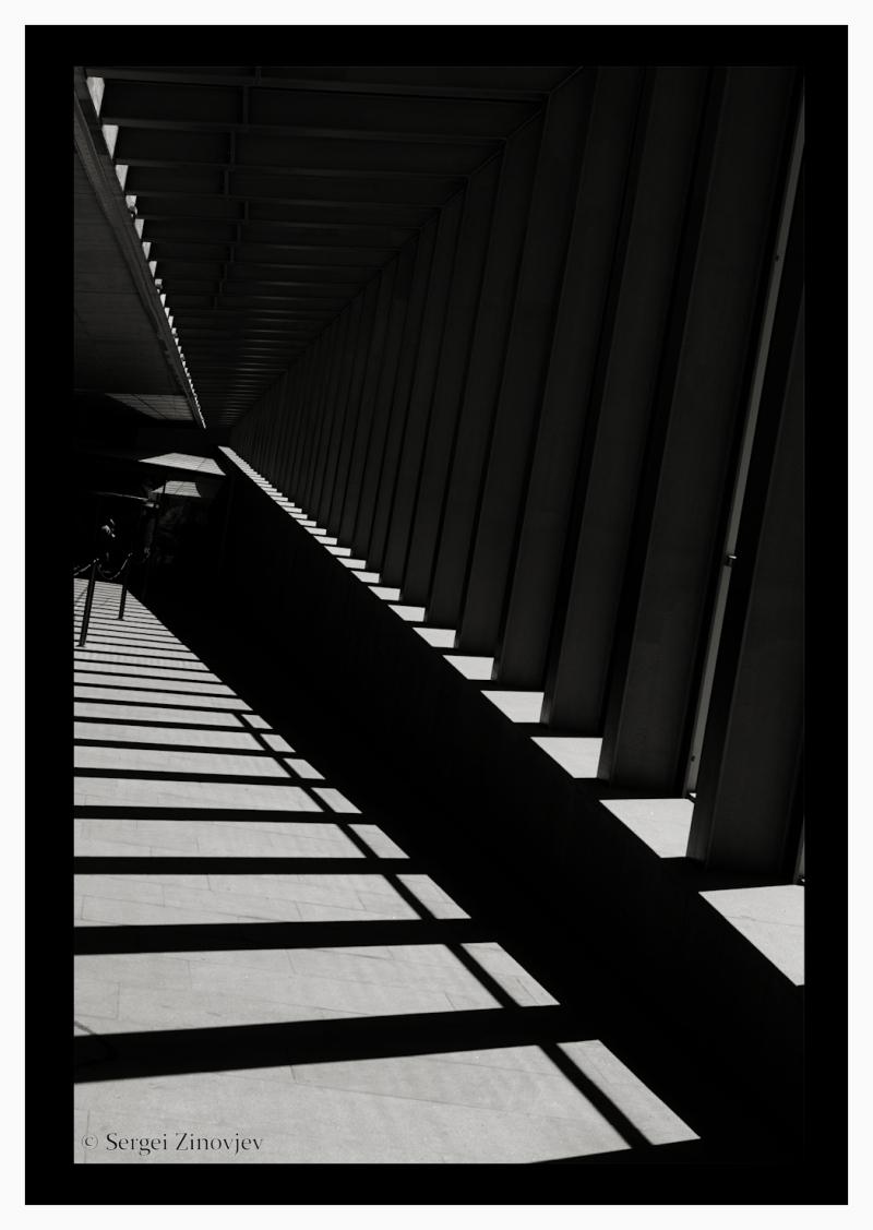 shadows in Tallinn TV Tower