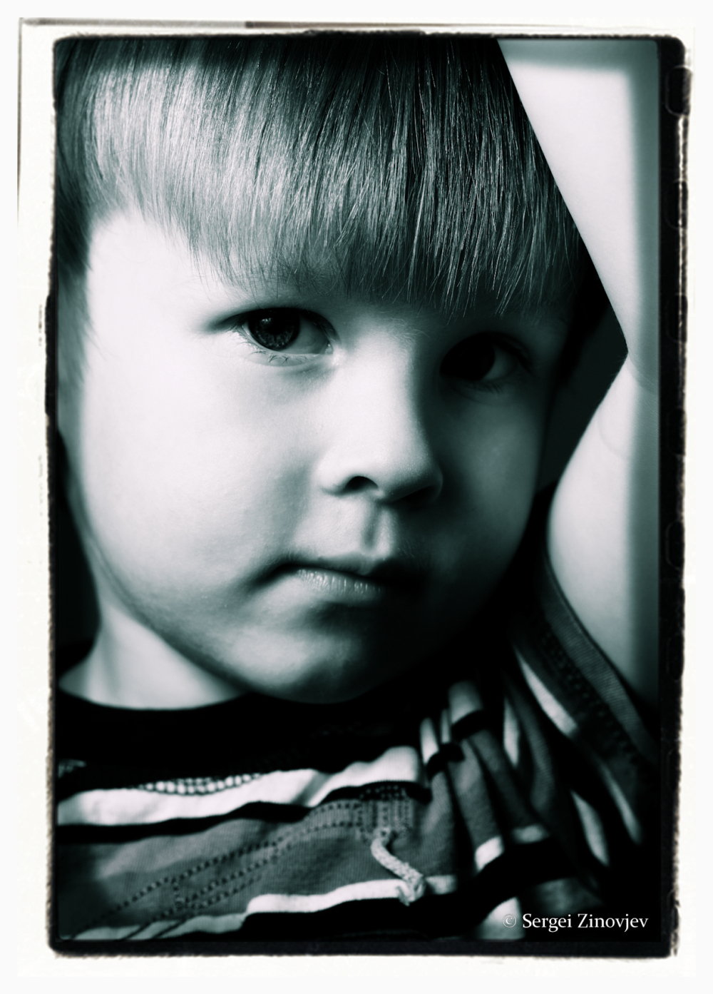 portrait of little boy
