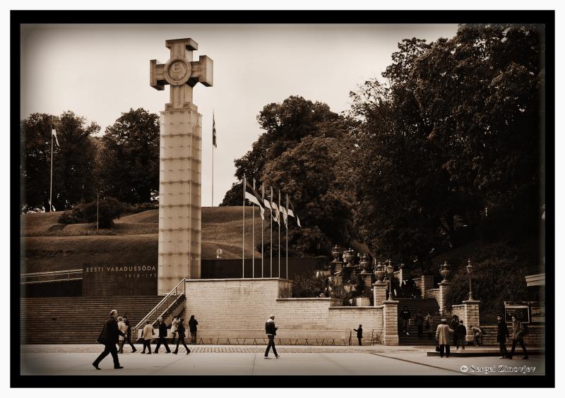 Vabaduserist (Cross of Liberty) in Tallinn