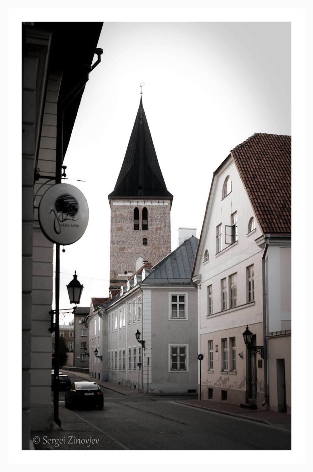 Jaani street in Tartu