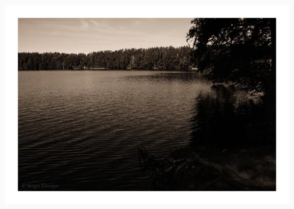 Peaceful Uljaste lake in Lääne-Virumaa