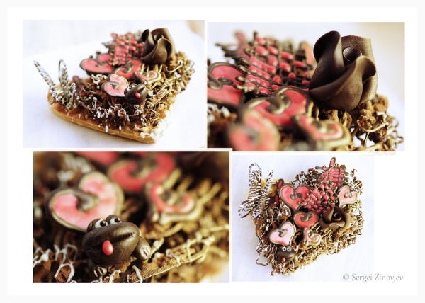 handmade chocolate decorations