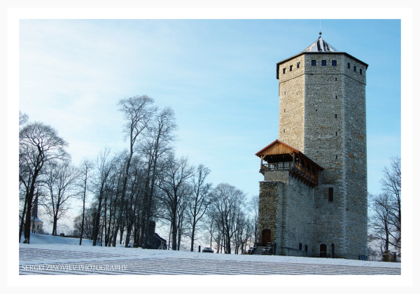 old tower in Paide, Estonia