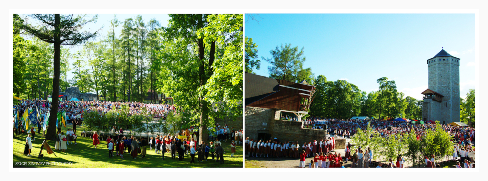 Song and Dance Festival in Paide, Estonia