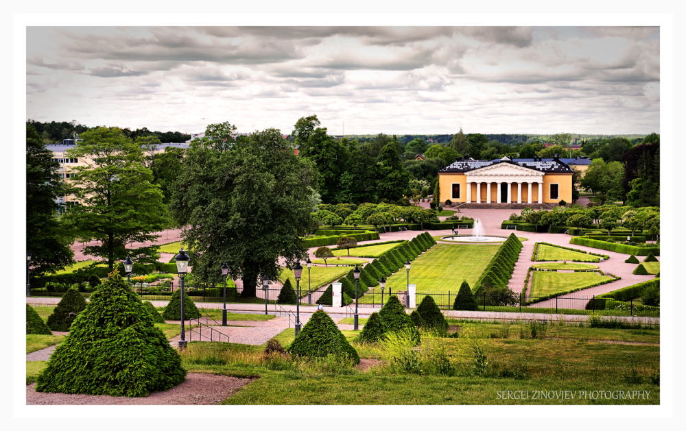 park view from Uppsala Konstmuseum