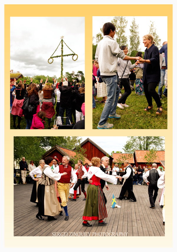 celebration on Midsummer's Day in Sweden, Uppsala