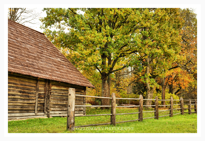 peaceful old country side