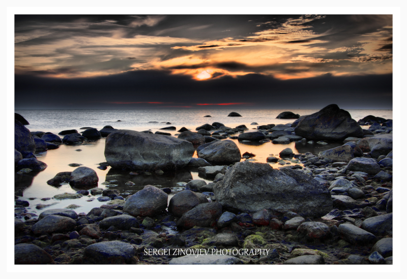 Sunset at Hiiumaa Island, Estonia