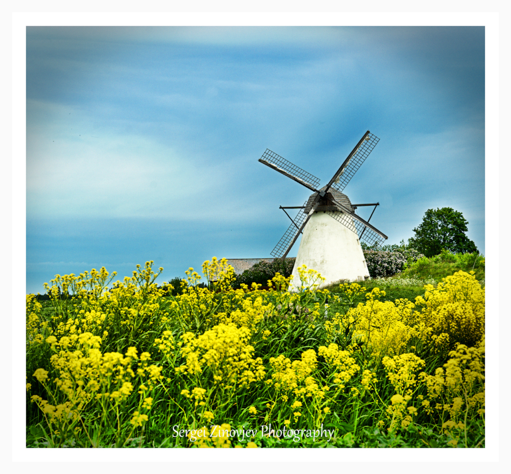 Seidla Windmill, Estonia