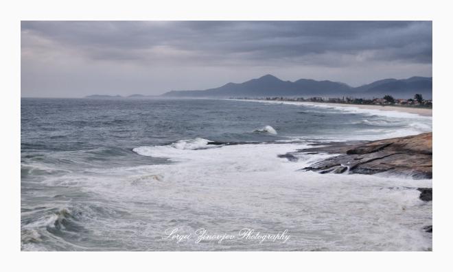 Beach in Saquarema.