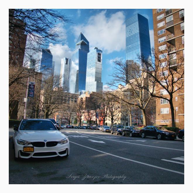 Sunny day in Manhattan