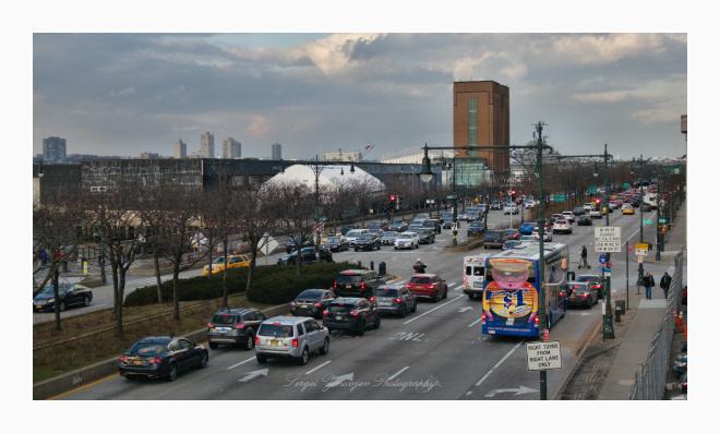 traffic in Manhattan