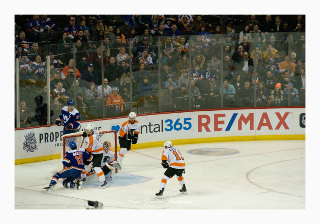 hockey New York Islanders vs Philadelphia Flyers