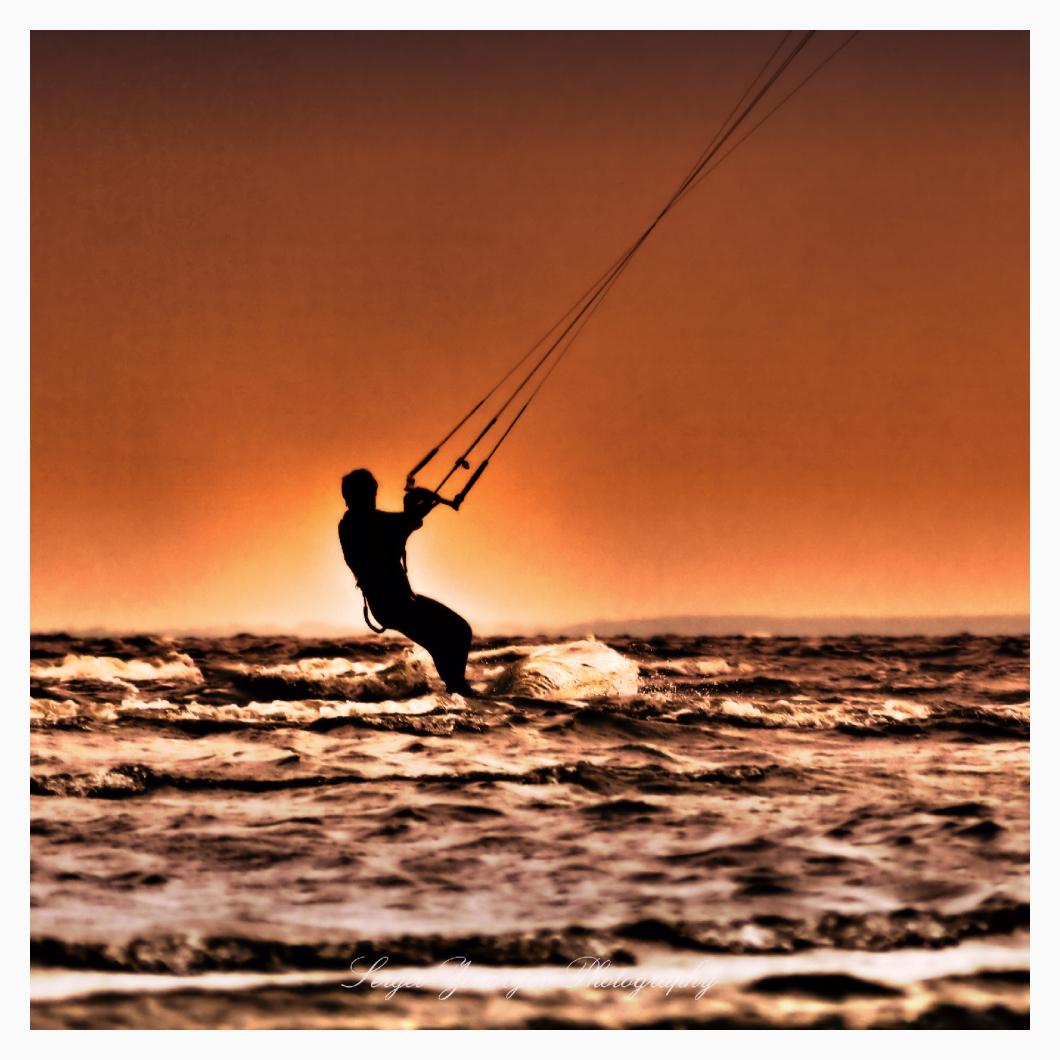 surfer in Pärnu