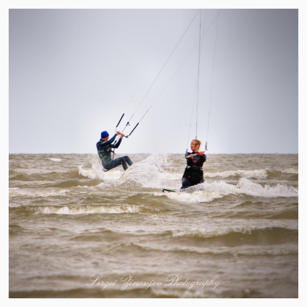 kitesurfing in Pärnu